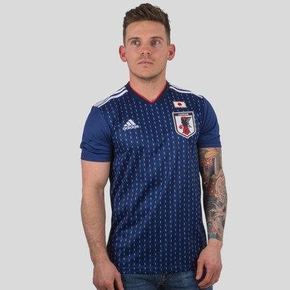 adidas Japan 2018 Home S/S Replica Football Shirt