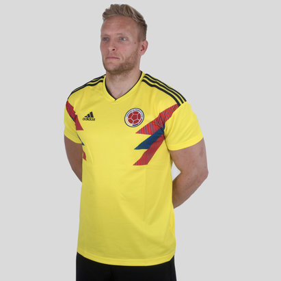adidas Colombia 2018 Home S/S Replica Football Shirt