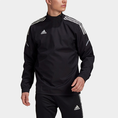 adidas Hybrid Zip Top Mens