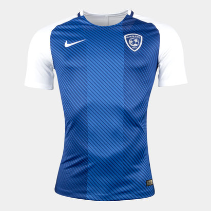 Nike Al-Hilal Saudi FC 17/18 Home Players Match Day S/S Football Shirt