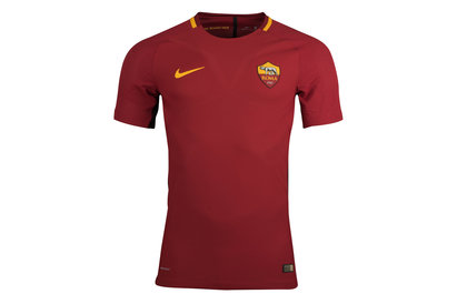 Nike AS Roma 17/18 Home Authentic Match S/S Football Shirt