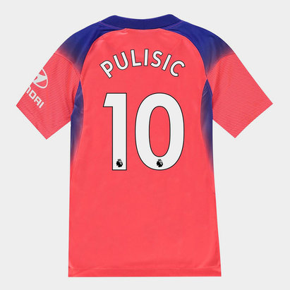 Nike Chelsea Christian Pulisic Third Shirt 20/21 Kids