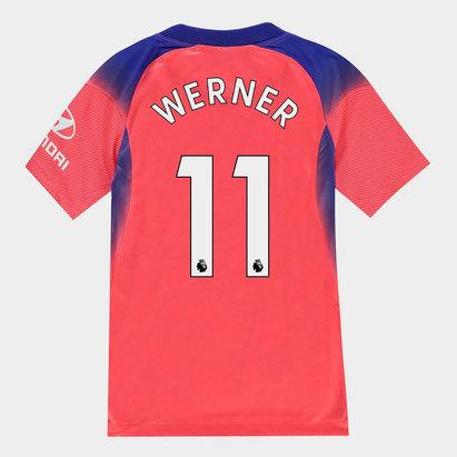 Nike Chelsea Timo Werner Third Shirt 20/21 Kids