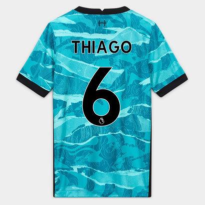 Nike Liverpool Thiago Alcantara Away Shirt 20/21 Junior