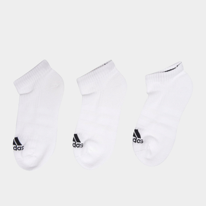 adidas 3 Pack Trainer Socks