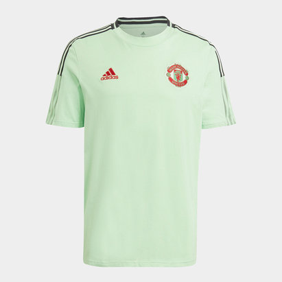 adidas Manchester United T Shirt Mens