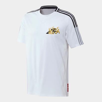adidas Juventus Chinese New Year T Shirt Mens