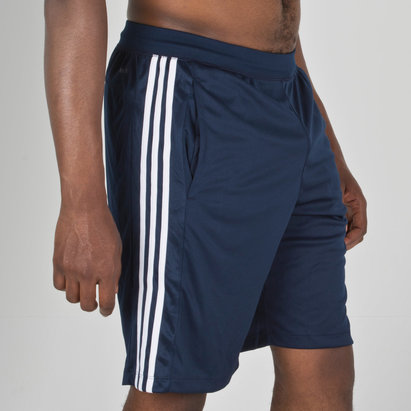 adidas D2M 3 Stripes Training Shorts