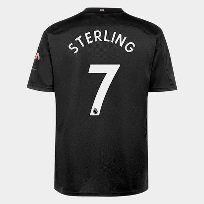 Puma Manchester City Raheem Sterling Away Shirt 20/21 Mens