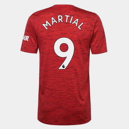 adidas Manchester United Anthony Martial Home Shirt 20/21 Mens
