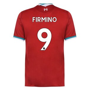Nike Liverpool Roberto Firmino Home Shirt 2020 2021