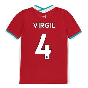 Nike Liverpool Virgil van Dijk Home Shirt 20/21 Kids
