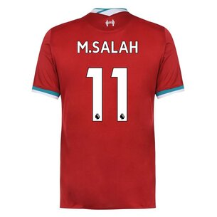 Nike Liverpool Mohamed Salah Home Shirt 20/21 Mens