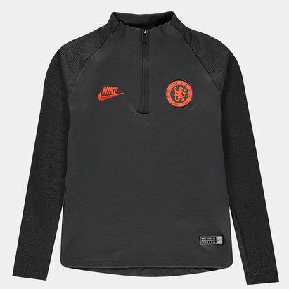 Nike Chelsea FC Strike Drill Top Junior Boys