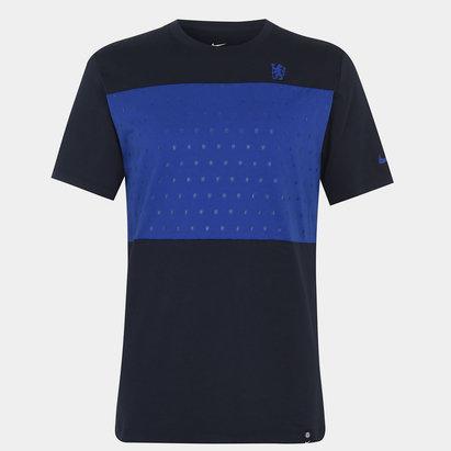 Nike Chelsea FC Crest T Shirt Mens