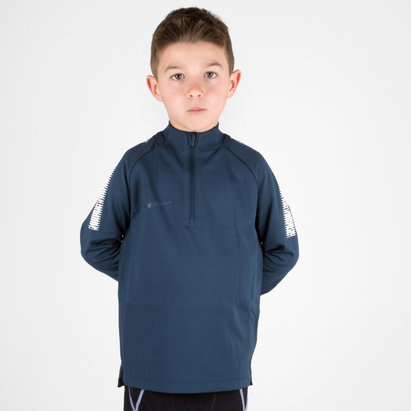 Nike Dry Squad Kids Football Training Drill Top
