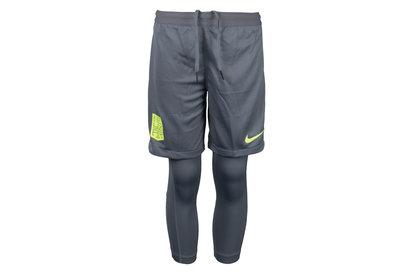 Nike Neymar Kids Dry 2 in 1 Squad Shorts