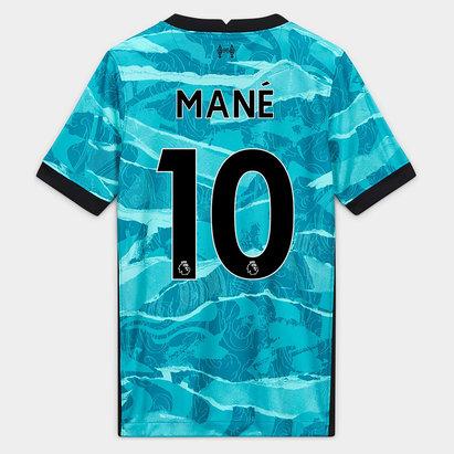 Nike Liverpool Sadio Mane Away Shirt 20/21 Kids