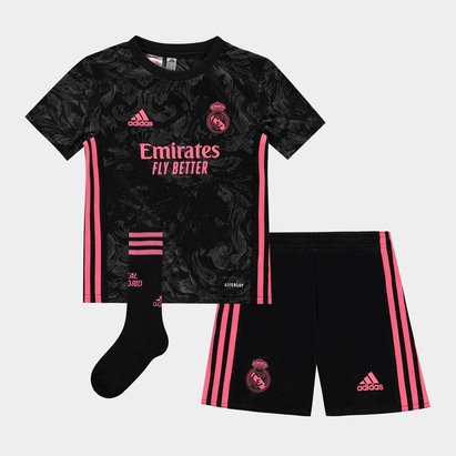 adidas Real Madrid Third Mini Kit 20/21