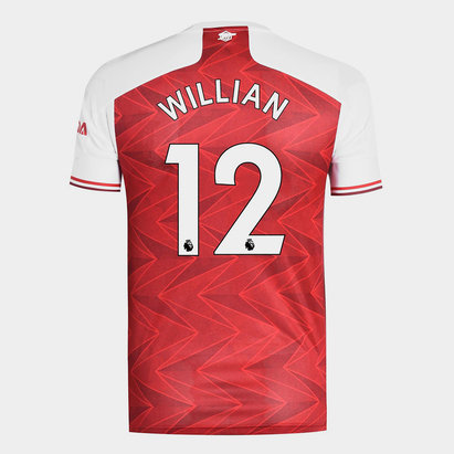 adidas Arsenal Willian Home Shirt 20/21 Mens