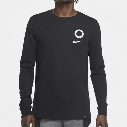 Nike Nigeria Voice Long Sleeve T Shirt Mens
