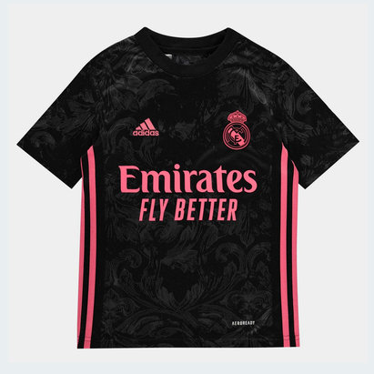 adidas Real Madrid Third Shirt 20/21 Kids