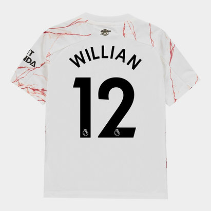 adidas Arsenal Willian Away Shirt 20/21 Kids