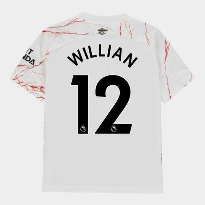 adidas Arsenal Willian Away Shirt 20/21 Kids