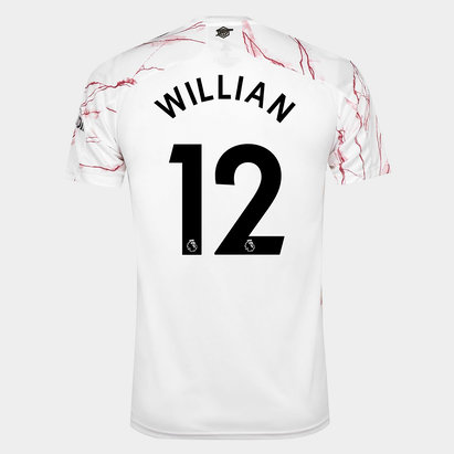 adidas Arsenal Willian Away Shirt 20/21