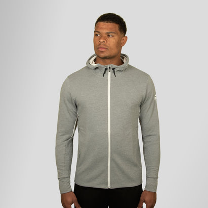adidas Workout Climalite Full Zip Hooded Sweat