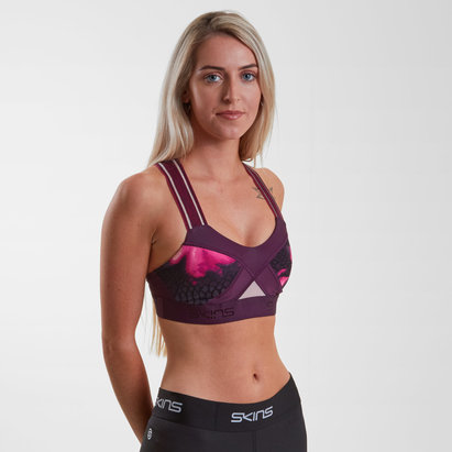 SKINS DNAmic Ladies Compression Sports Bra
