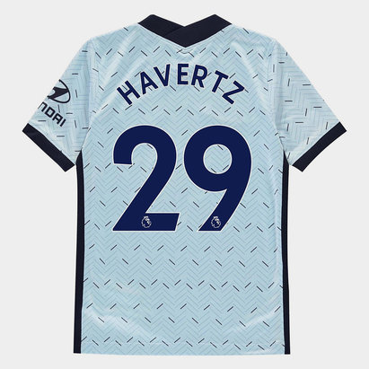 Nike Chelsea Kai Havertz Away Shirt 20/21 Kids