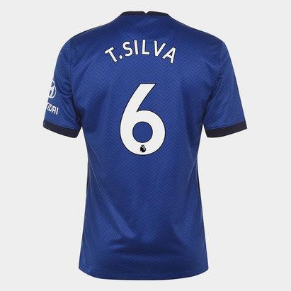 Nike Chelsea Thiago Silva Home Shirt 20/21 Kids