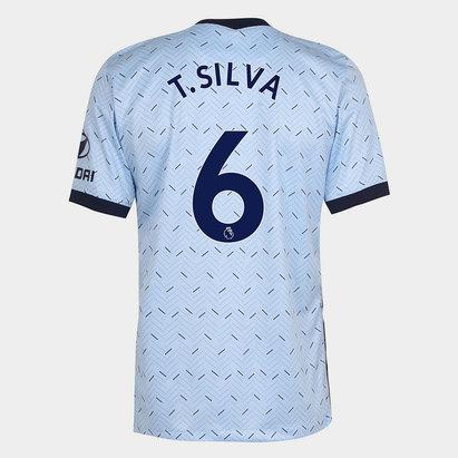 Nike Chelsea Thiago Silva Away Shirt 20/21 Mens