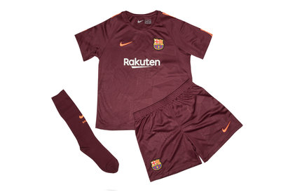 Nike FC Barcelona 17/18 Little Kids 3rd Football Kit