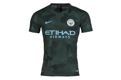 Manchester City 17/18 3rd Players Match Day S/S Football Shirt