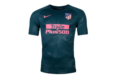 Nike Atletico Madrid 17/18 3rd S/S Replica Football Shirt