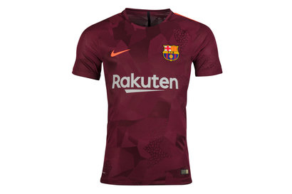 Nike FC Barcelona 17/18 3rd Players Match Day S/S Football Shirt
