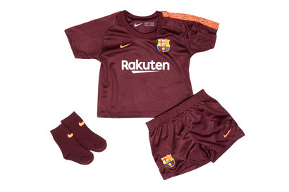Nike FC Barcelona 17/18 Infants 3rd Football Kit
