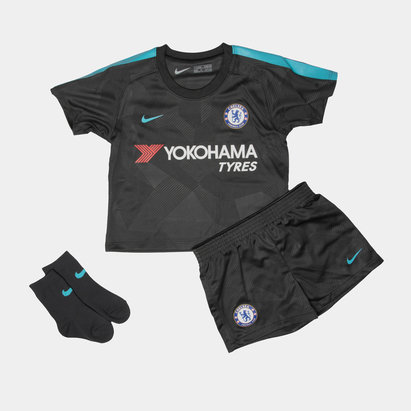 Nike Chelsea FC 17/18 Infant 3rd Football Kit