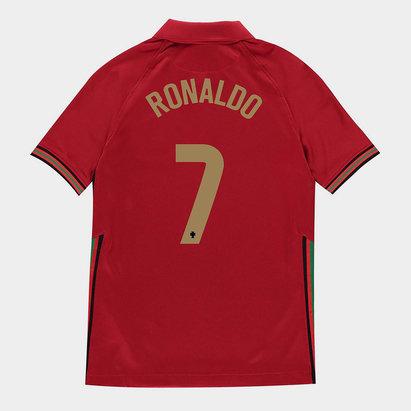 Nike Portugal Cristiano Ronaldo Home Shirt 2020 Junior