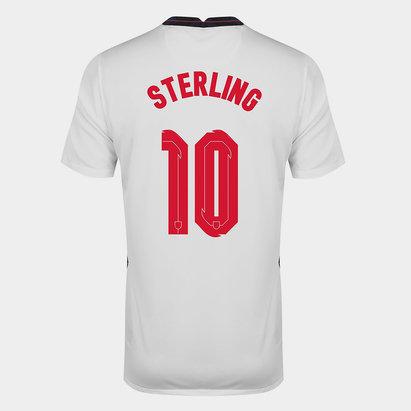 Nike England Raheem Sterling Home Shirt 2020 Junior