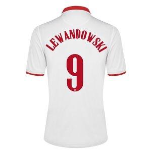 Nike Poland Robert Lewandowski Home Shirt 2020