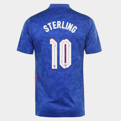 Nike England Raheem Sterling Away Shirt 2020 Junior