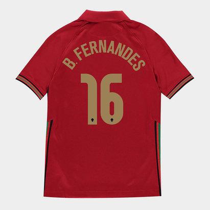 Nike Portugal Bruno Fernandes Home Shirt 2020 Junior