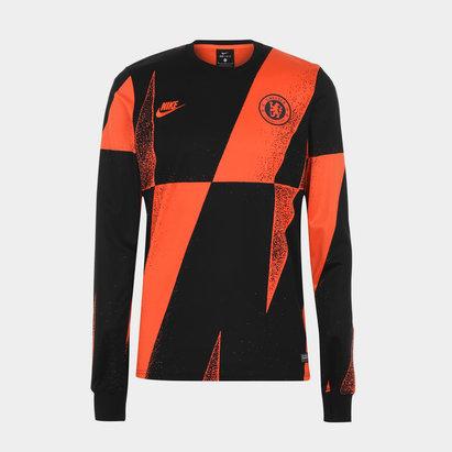 Nike Chelsea FC Pre Match T Shirt Mens