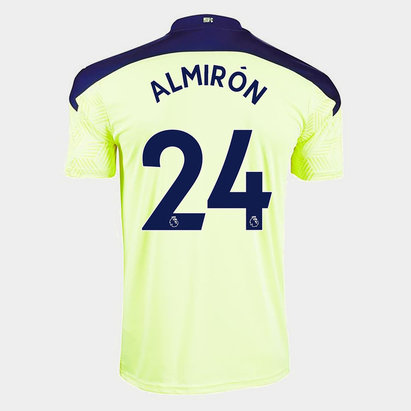 Puma Newcastle United Miguel Almiron Away Shirt 20/21 Kids