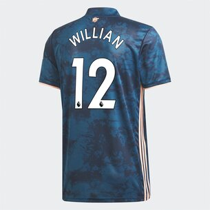 adidas Arsenal Willian Third Shirt 20/21 Mens