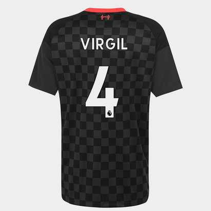 Nike Liverpool Virgil van Dijk Third Shirt 20/21 Mens