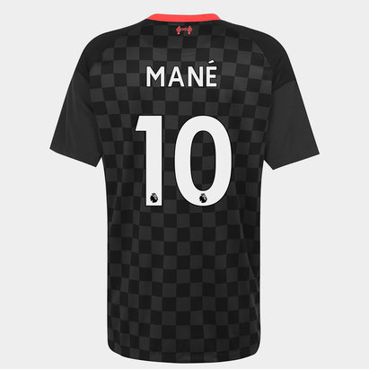 Nike Liverpool Sadio Mane Third Shirt 20/21 Mens
